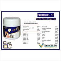 Vanilla Flavour Sugar Free Protein Powder