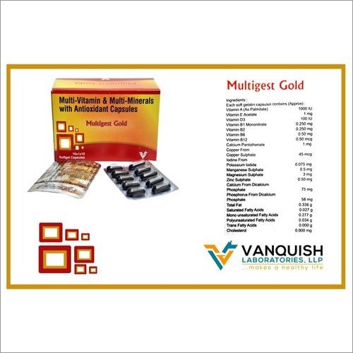 MULTIGEST-GOLD CAPS