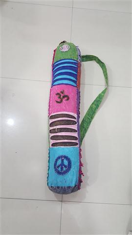 Om Print Yoga Mat Bag Exporter