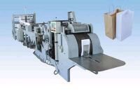 Fully Automatic Paper Bags Making Machine For Grocery Shop Bags.