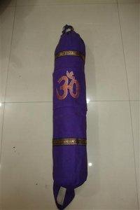 Cotton Fabric Printed Yoga Mat Bag