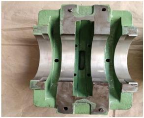 White metal engine bearing