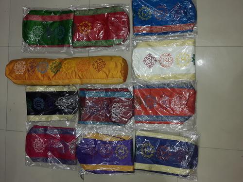 Seven Circle Silk Yoga Mat Bag