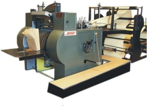 Fully Automatic Plain Paper Bags Making Machine