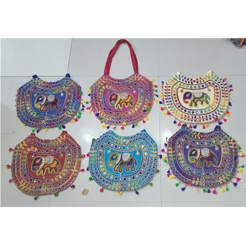 New Elephant Embroidery Shoulder Bag