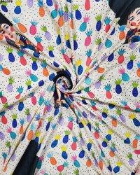 Rayon Khadi Digital Print Fabric
