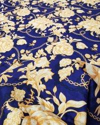 Rayon Slub Digital Print Fabric
