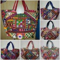 Shoulder Embroidery Tote Bag Vintage Bag