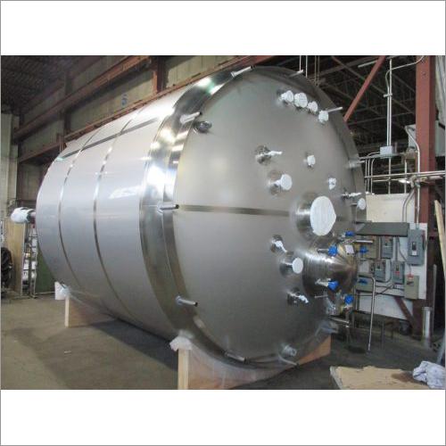 Stainless Steel Pharma Pressure Vessel