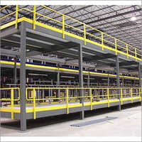 Warehouse Raised Structure Steel Platform