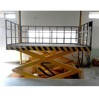 Cage type Pit Mounted Scissor Lift Table