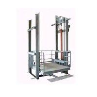 Dual Mast Hydraulic Goods Lift