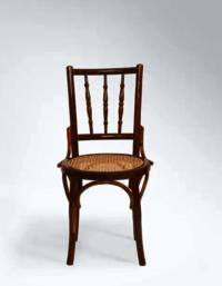 Round Cane Chair.