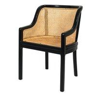 Arm Chair Cane Woven.