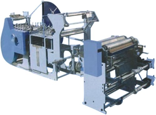 Fully Automatic Paper Bags Manufacturing Machine