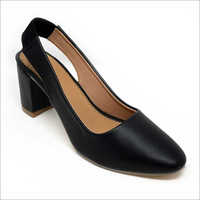 Ladies Leather Heels Belly Shoes