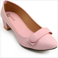 Ladies Pink Belly Shoes