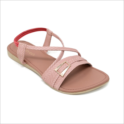 Ladies Stylish Rose Flat Sandals