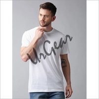 Men White Dots T-Shirt