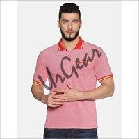 UrGear Self Design Men Collared Neck T-Shirt