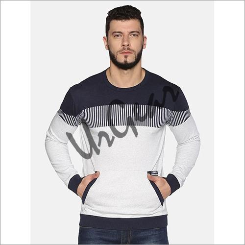 UrGear Full Sleeve Striped Men Sweatshirt