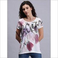 Women Floral Printed T-Shirt
