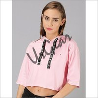 UrGear Casual 3-4 Sleeve Solid Women Pink Top