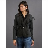 Women Dark Grey Jacket