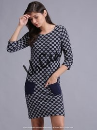 Women Jacquard Dress