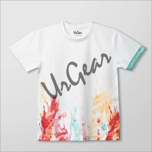 Kids Printed Paint Splash T-Shirt