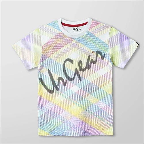 Kids Multi Colour Line T-Shirt