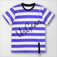 Kids Striped Blue T-Shirt
