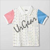 UrGear Boys & Girls Printed Organic Cotton Blend T-Shirt