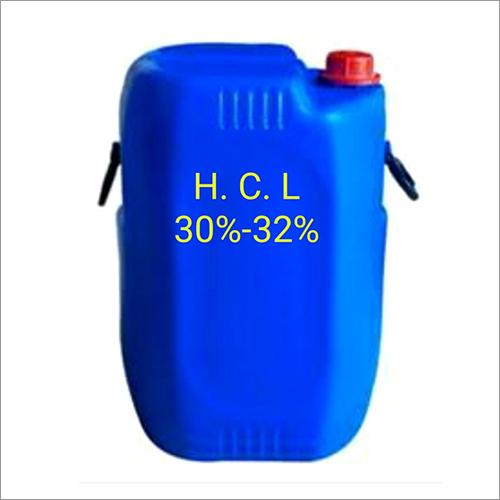 Colorless Hydrochloric Acid