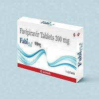 Fabiflu 200mg (Favipiravir Tablets)