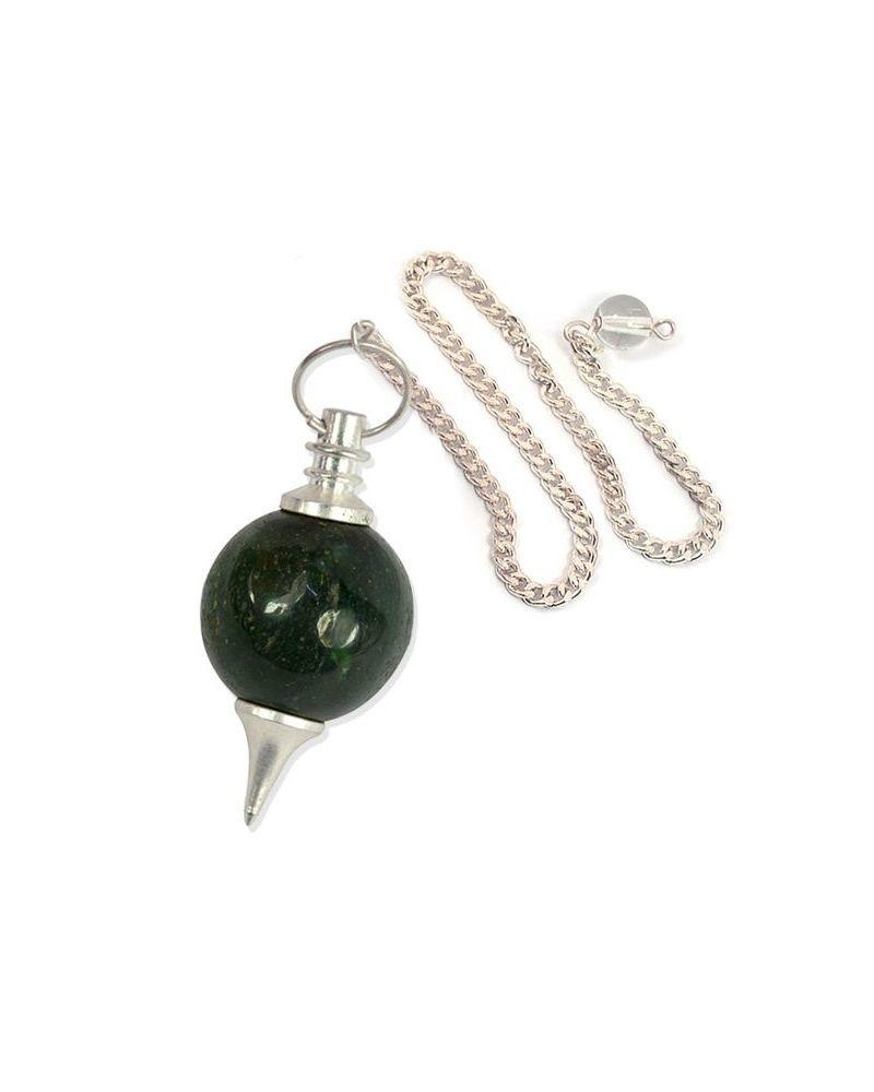 Green Aventurine Ball Pendulum