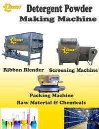 Full Automatic Detergent Powder Making Machine