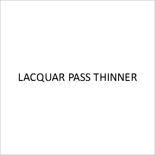 Lacquer Pass Thinner