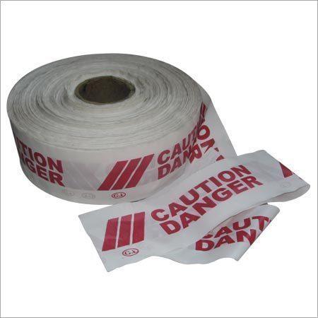Caution danger tapes