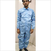 SafeCare Male Blue Anti Static Coverall