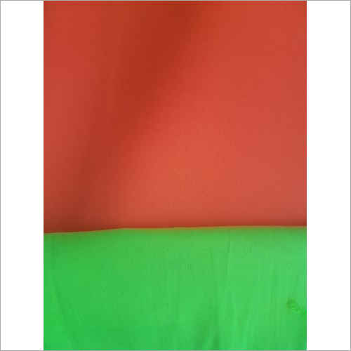 Fluorescent Polyester And Cotton Fabric