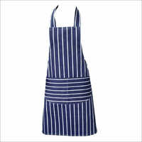 Blue White Kitchen Cotton Apron