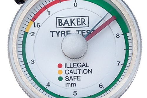 BAKER GAUGES TTG01 Tyre Tread Depth Gauge