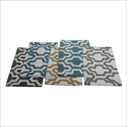 Rectangular Stylish Bath Rugs