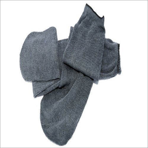 Cotton Grey Socks