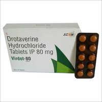 80 MG Drotaverine Hydrochloride Tablets IP