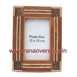 Table Top Wooden Mirror Photo Frames