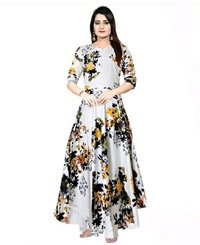 Ladies Lightweight Long Gown