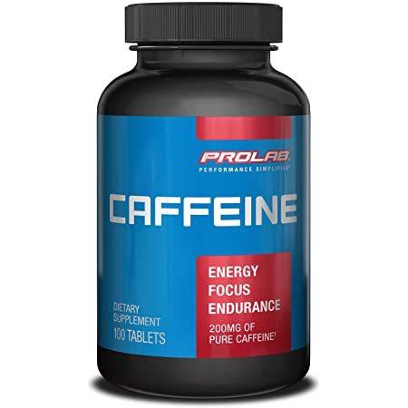 Caffeine Extend Release Table