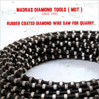 Rubber Coated Diamond Wire Saw